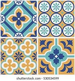 https www shutterstock com image vector decorative tile pattern design vector illustration 530534599