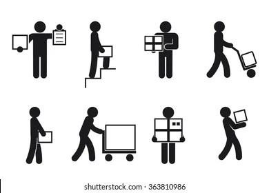 packaging pictogram Images, Stock Photos & Vectors