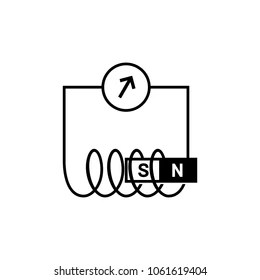 Electromagnetic Induction Images, Stock Photos & Vectors