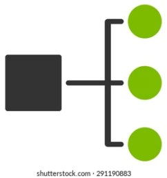 diagram icon from commerce set vector style bicolor flat symbol eco green and [ 1000 x 1000 Pixel ]