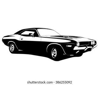 Dodge Challenger Images Stock Photos Vectors Shutterstock