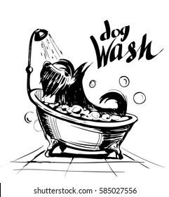 Dog Grooming Cartoons Images, Stock Photos & Vectors
