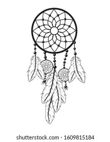 Simple Dream Catcher Drawing : simple, dream, catcher, drawing, Dream, Catcher, Drawing, Stock, Images, Shutterstock