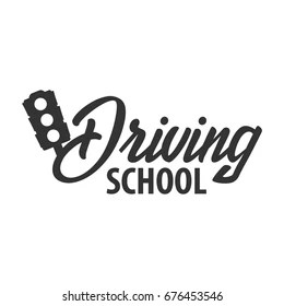Driving School Logo Images, Stock Photos & Vectors