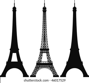 eiffel tower images stock