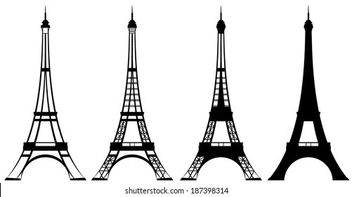 Paris Silhouette Stock Images, Royalty-Free Images