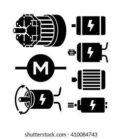 powerful motor icon images