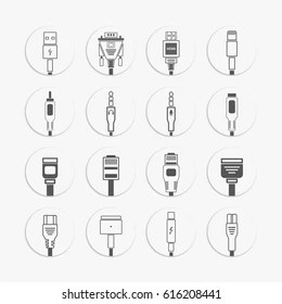 3 Pin Plug Icon Stock Vectors, Images & Vector Art