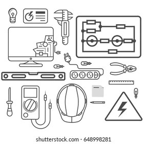 electrical drawing Images, Stock Photos & Vectors