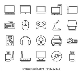 Output Device Stock Vectors, Images & Vector Art