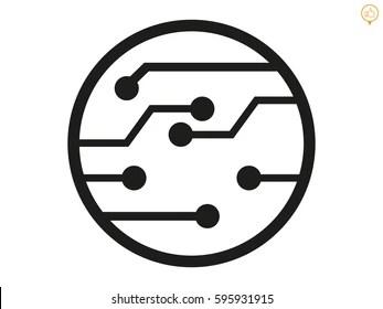 circuit board icon Images, Stock Photos & Vectors