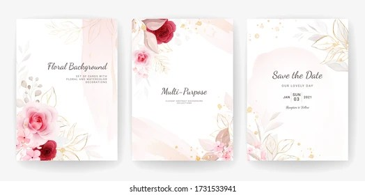 https www shutterstock com image vector elegant abstract background wedding invitation card 1731533941