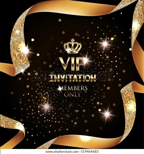 https www shutterstock com fr image vector elegant vip invitation card silk textured 519464683