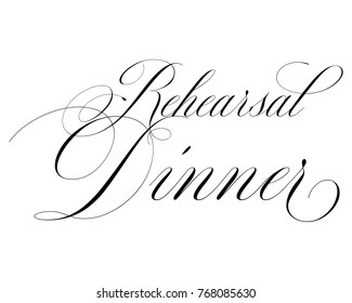 Wedding Rehearsal Dinner Images, Stock Photos & Vectors