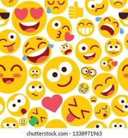 Funny Emoji Background Hd