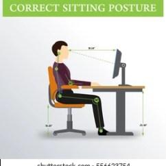 Ergonomically Correct Chair Room Essentials Folding Royalty Free Ergonomic Stock Images Photos Vectors Ergonomics Sitting Posture