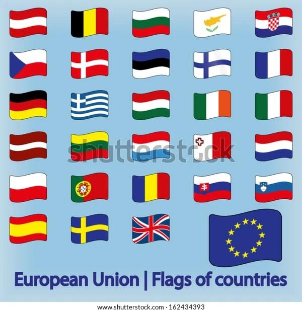 european union flags countries