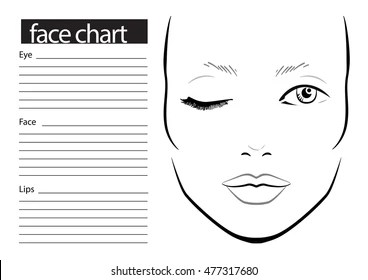 Face Chart Images Stock Photos