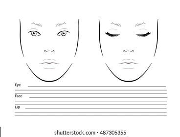 blank face diagram botox how to solve venn wiring