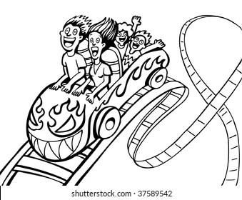 Ilustraciones, imágenes y vectores de stock sobre Roller