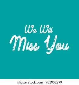 Farewell Card Images, Stock Photos & Vectors | Shutterstock
