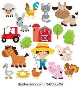 animales de granja images