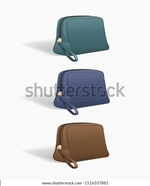 Find the best makeup bag mockup stock photos for your project. Fashion Accessories Toiletries Bag Mockup Zipper Stock Vector Royalty Free 1516107881