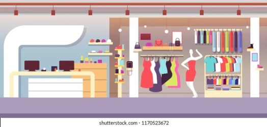 Clothing Store Cartoon Images Stock Photos & Vectors Shutterstock