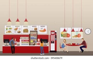 People Inside Fast Food Restaurants Images Stock Photos & Vectors Shutterstock