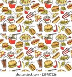 Fast Food Wallpaper Images Stock Photos & Vectors Shutterstock