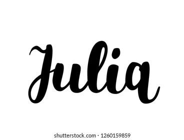 julia name image Images Stock Photos  Vectors  Shutterstock