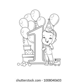 Similar Images, Stock Photos & Vectors of Coloring Page