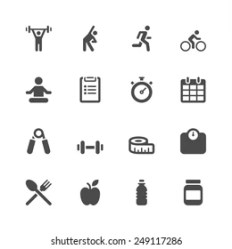 Fitness Icon Images Stock Photos & Vectors Shutterstock