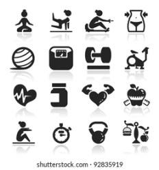 Fitness Icons Images Stock Photos & Vectors Shutterstock