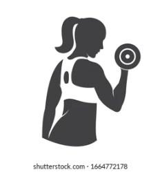 Icon Women Fitness Images Stock Photos & Vectors Shutterstock