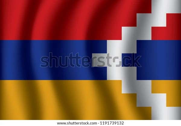 flag nagorno karabakh republic