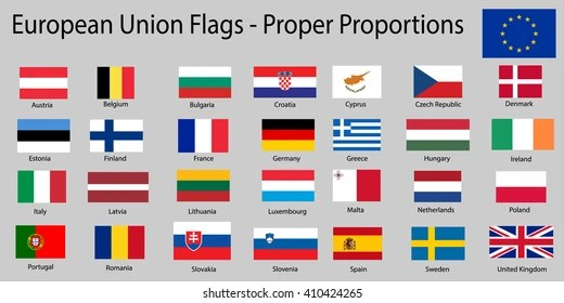 country flags with names