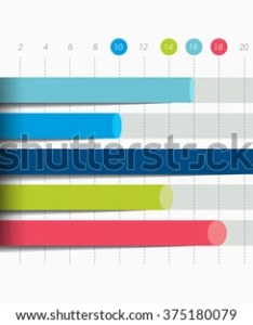 Flat chart graph blue color editable infographics elements also stock vector royalty free rh shutterstock