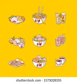 Indonesian Food Cartoon Images Stock Photos Vectors Shutterstock