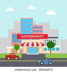 Imágenes fotos de stock y vectores sobre Cartoon Shopping