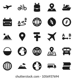 Map Symbols Icons Stock Images, Royalty-Free Images
