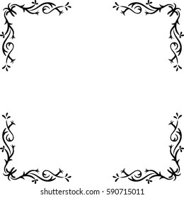 Decorative Corners Stock Images, Royalty-Free Images