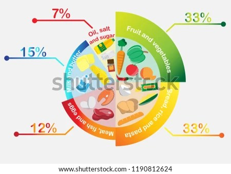 diagram food guide vip 50cc scooter wiring plate stock vector royalty free 1190812624 shutterstock