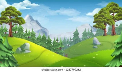 3d Forest Background Images Stock Photos & Vectors Shutterstock