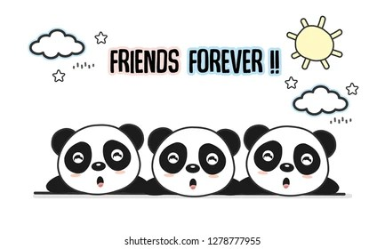 friends forever images stock