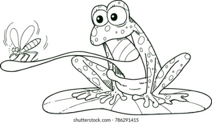 Cartoon Frog Images Stock Photos & Vectors Shutterstock