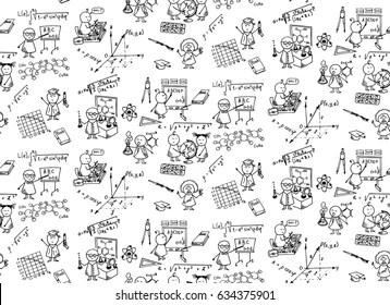 School Whiteboard Stock Illustrations, Images & Vectors