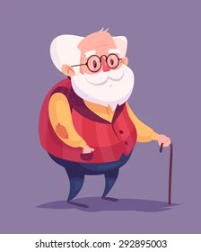Old Man Cartoon : cartoon, Cartoon, Images,, Stock, Photos, Vectors, Shutterstock