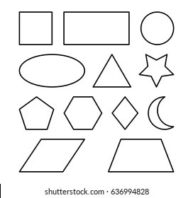 triangle shape outline images
