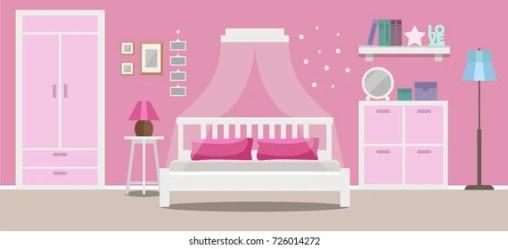 Cartoon Girl Bedroom Images Stock Photos & Vectors Shutterstock